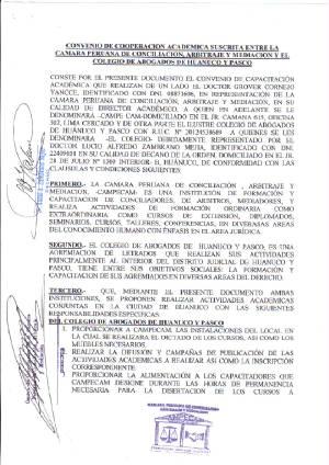 Arbitraje for Modelo acuerdo extrajudicial clausula suelo